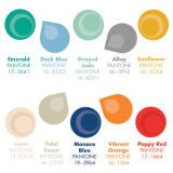 Trendy spring colors for men by Pantone